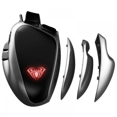 S10 Latest professional ergonomic gaming mouse with colorful light & hot sell in market